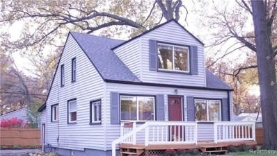 663 W Shevlin Avenue, Hazel Park, MI 48030 - MLS#: 218107065
