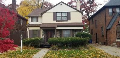 19963 Renfrew Road, Detroit, MI 48221 - MLS#: 218109376