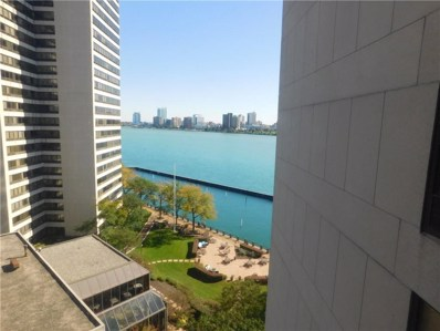 300 Riverfront Drive UNIT 10C, Detroit, MI 48226 - MLS#: 218109410