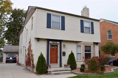 1242 Hampton Road, Grosse Pointe Woods, MI 48236 - MLS#: 218109609