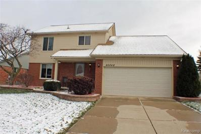 46848 Amberwood Drive, Shelby Twp, MI 48317 - MLS#: 218109781
