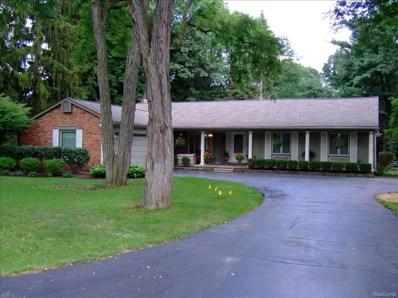 4144 Meadow Way, Bloomfield Twp, MI 48301 - MLS#: 218110119