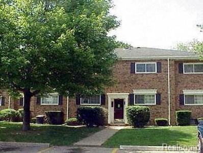 651 E Fox Hills Drive UNIT 50, Bloomfield Twp, MI 48304 - MLS#: 218113163