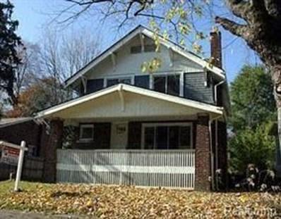 16565 Blackstone Street, Detroit, MI 48219 - MLS#: 218113212