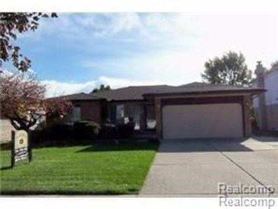 4972 Chadbourne Drive, Sterling Heights, MI 48310 - MLS#: 218113307