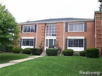 780 E Fox Hills, Bloomfield Twp, MI 48304 - MLS#: 218115707