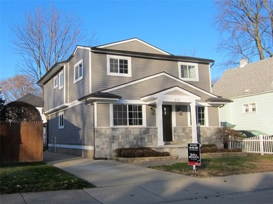 619 E University Avenue, Royal Oak, MI 48067 - MLS#: 218116065