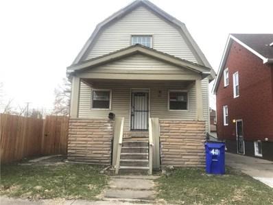 411 Manistique Street, Detroit, MI 48215 - MLS#: 218119118