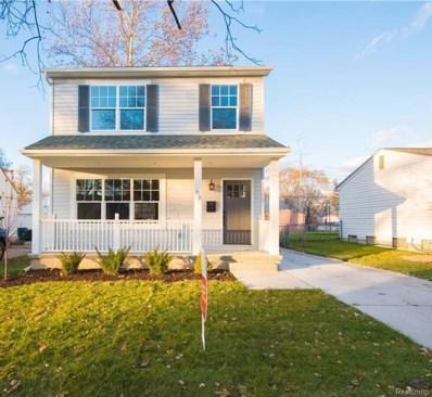 414 W Barrett Avenue, Madison Heights, MI 48071 - MLS#: 219000499