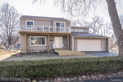 3575 Lakeview Drive, Highland Twp, MI 48356 - MLS#: 219005527