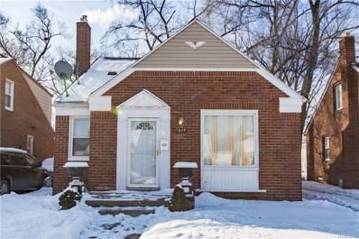 19477 Prest Street, Detroit, MI 48235 - MLS#: 219005998