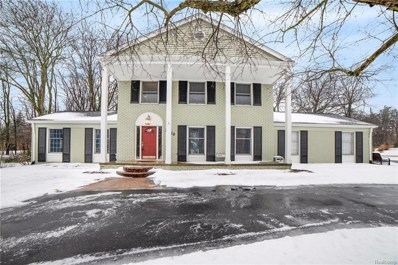 3720 Millspring Road, Bloomfield Twp, MI 48304 - MLS#: 219006049