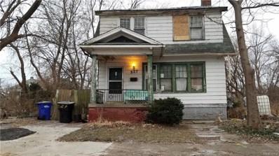 527 Manistique Street, Detroit, MI 48215 - MLS#: 219006273