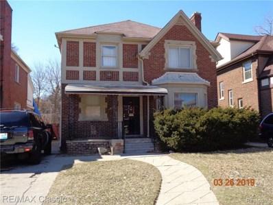 17361 Ohio Street, Detroit, MI 48221 - MLS#: 219010321