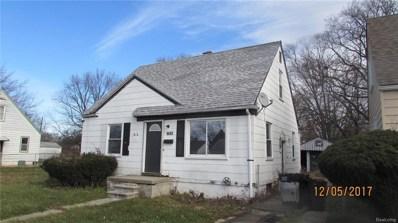 8652 Fielding, Detroit, MI 48228 - MLS#: 219010546