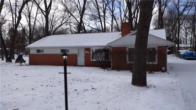 2360 Keith Road, West Bloomfield Twp, MI 48324 - MLS#: 219013288