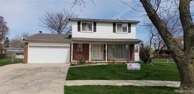 11101 Hanna Drive, Sterling Heights, MI 48312 - MLS#: 219013299