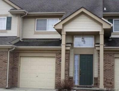 322 N Vista UNIT 117, Auburn Hills, MI 48326 - MLS#: 219013868