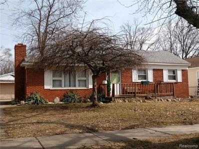 3620 Benjamin Avenue, Royal Oak, MI 48073 - MLS#: 219015485