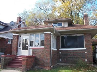 383 Chalmers Street, Detroit, MI 48215 - MLS#: 219018335