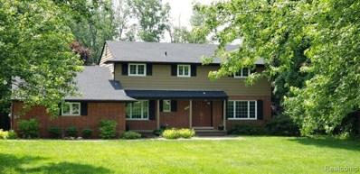 486 Wishbone Drive, Bloomfield Hills, MI 48304 - MLS#: 219020183