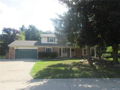 2489 Beacon Hill Drive, Rochester Hills, MI 48309 - MLS#: 219021242