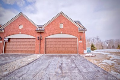 3622 Bay Harbor Drive UNIT 75, Brighton Twp, MI 48114 - MLS#: 219021751