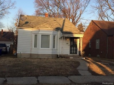 368 Eastlawn Street, Detroit, MI 48215 - MLS#: 219022107