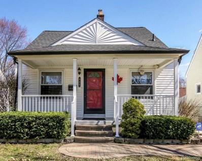 824 N Edison Avenue, Royal Oak, MI 48067 - MLS#: 219022546