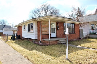 1355 Empire Avenue, Lincoln Park, MI 48146 - MLS#: 219023424