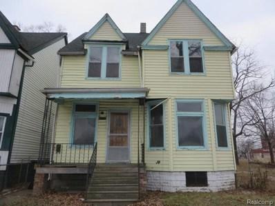 5027 Baldwin Street, Detroit, MI 48213 - MLS#: 219027100