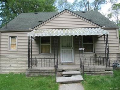16129 Chatham Street, Detroit, MI 48219 - MLS#: 219027263