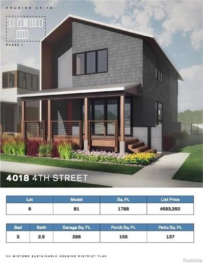 4018 Fourth Street, Detroit, MI 48201 - MLS#: 219028847