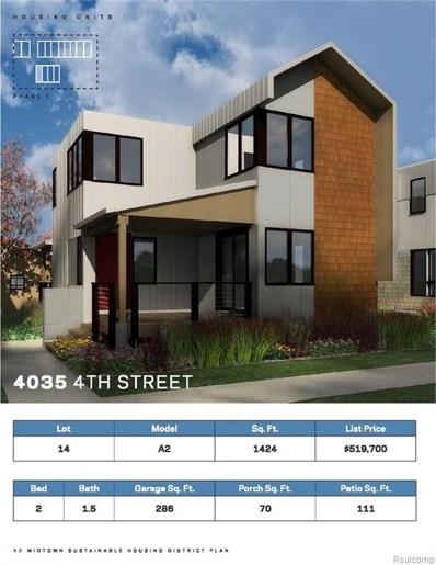4035 Fourth Street, Detroit, MI 48201 - MLS#: 219029009