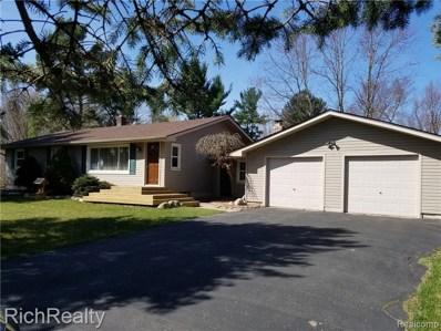 851 S Duck Lake Road, Milford Twp, MI 48381 - MLS#: 219030969