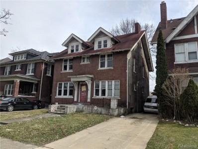 1451 Edison Street, Detroit, MI 48206 - MLS#: 219032402