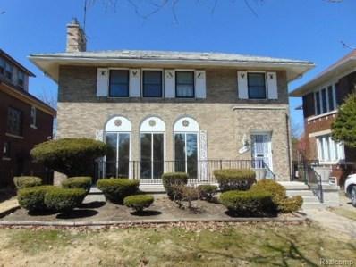 1990 Longfellow Street, Detroit, MI 48206 - MLS#: 219033603