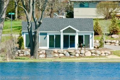 6885 Scotch Lake Drive, West Bloomfield Twp, MI 48324 - MLS#: 219034581