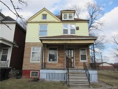 5956 Stanton Street, Detroit, MI 48208 - MLS#: 219034813
