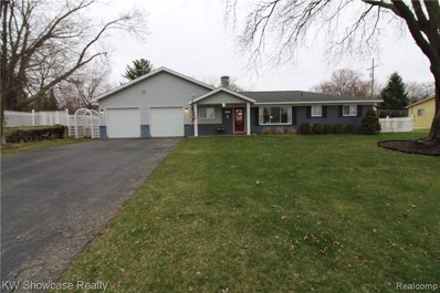 4698 Claudia Drive, Waterford Twp, MI 48328 - MLS#: 219035996