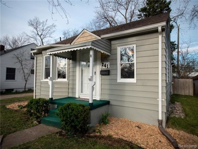 241 Dick Avenue, Pontiac, MI 48341 - MLS#: 219036594