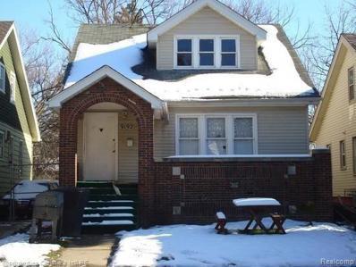 9192 Pinehurst Street, Detroit, MI 48204 - MLS#: 219036959