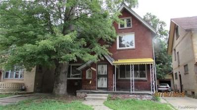 16524 Wisconsin Street, Detroit, MI 48221 - MLS#: 219038159