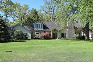 4205 Valley Forge Road, Bloomfield Twp, MI 48301 - #: 219038787