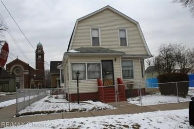 5882 Belvidere Street N, Detroit, MI 48213 - MLS#: 219047832