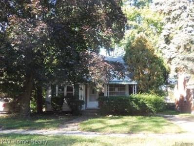 19515 Westmoreland Road, Detroit, MI 48219 - MLS#: 219048232