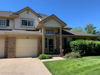 139 S Vista, Auburn Hills, MI 48326 - MLS#: 219049823