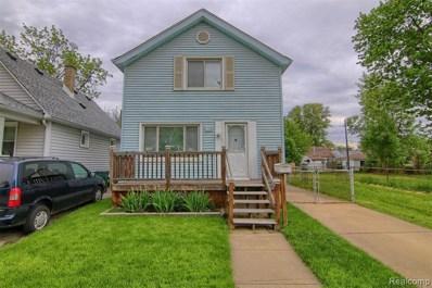 100 W George Avenue, Hazel Park, MI 48030 - MLS#: 219049948