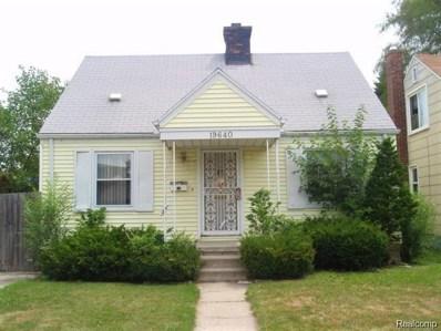19640 Dean Street, Detroit, MI 48234 - MLS#: 219053079