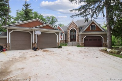 4910 Carroll Lake Road, Commerce Twp, MI 48382 - MLS#: 219053149